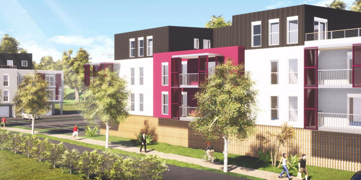 Construction de 28 logements collectifs