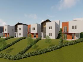 Construction 12 logements individuels