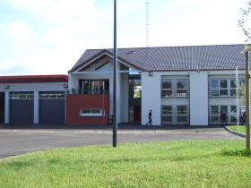Construction d'un centre de secours et d'intervention