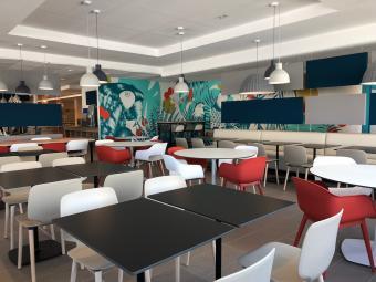 Rénovation et aménagement d'un Restaurant Inter Entreprises